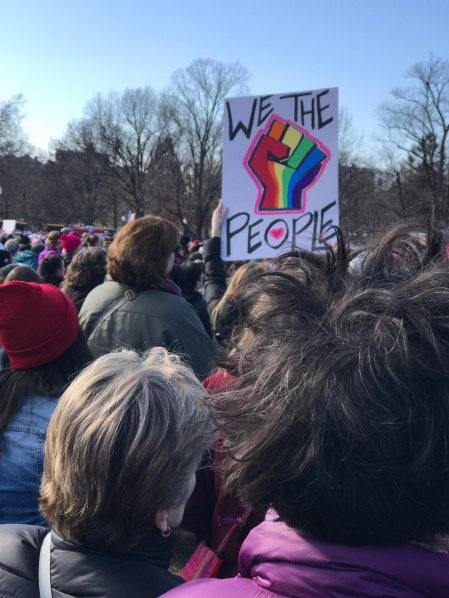 Boston Women's March/Lauren Anikis